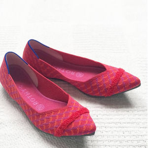 ROTHYS Limited Edition Pomegranate Grid Point Flat